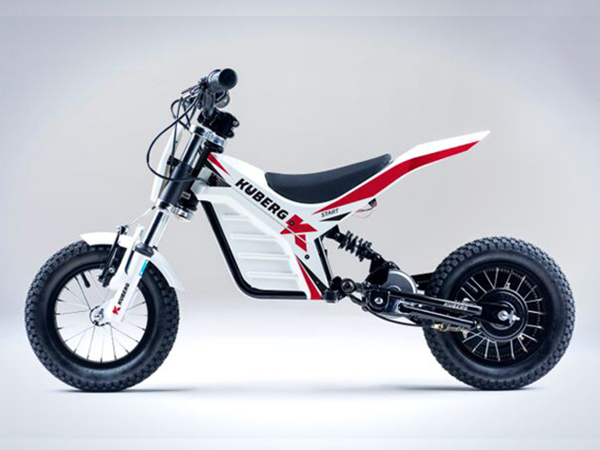 Kuberg Start elektrisk barn motorcykel